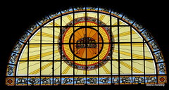 stained glass window (damselfly58) Tags: stainedglass stainedglasswindow churchglass