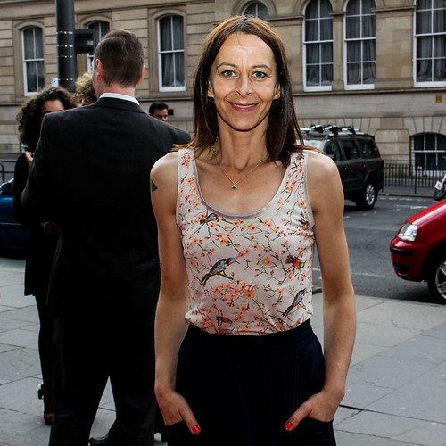 Kate Dickie attending the opening night party of the 67th Edinburgh International Film Festival