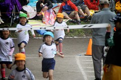 SAKURAKO - Kindergarten Sports Festival. (MIKI Yoshihito. (#mikiyoshihito)) Tags: sports festival japan athletic daughter kindergarten sakurako 運動会 娘 sportsfestival 幼稚園 さくらこ 櫻子 サクラコ 4歳8ヶ月 kindergartenathleticfestival