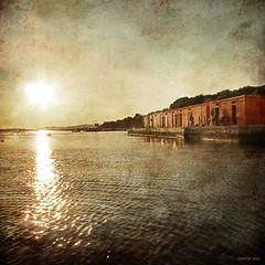 Jadrija (zbestak) Tags: sunset sea texture square grunge fineart croatia adriatic cheezy skyporn jadrija zbestak