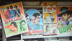 vintage technicolor Bollywood film posters ([s e l v i n]) Tags: street city india film vintage poster 50mm market streetphotography bombay posters bollywood bazaar mumbai technicolor hindi filmposters 50mmprime bollywoodposter primelens chorbazaar bollywoodposters hindifilms ©selvin hindicinemas