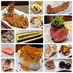 () (Danburg Murmur) Tags: fruit cheese sushi dessert ginger mosaic sashimi cucumber tofu plum taiwan crab plate shrimp clam squid shellfish taichung  tuna  prawn         tizhng