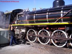 19D 2640 Knysna 2005 (19) (quhitcorse) Tags: railroad southafrica locomotive sas sar choochoo knysna steamtrains 19d steam locomotive southafricansteamtrains sarclass19d