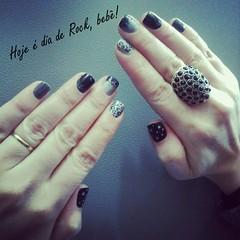 unha rock (Ana Canto) Tags: unhadecorada