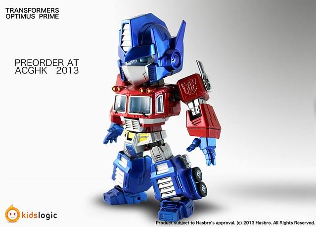 Kids Logic Transformers Optimus Prime 變型金剛 柯博文