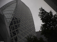tower in sinjuku (elmar35) Tags: street art japan pen tokyo olympus snap 25mm wollensak f19 1inch raptar cinelens cmount epl1