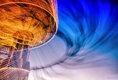 The Spin Zone (Steve Corey) Tags: ca longexposure speed twilight action explore countyfair lites pasorobles californiamidstatefair expulsion nightrides fastrides