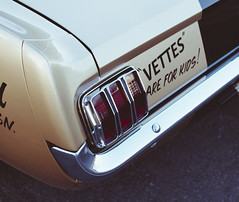 VETTES ARE FOR KIDS (kevinmccauley) Tags: shelby mustang corvette