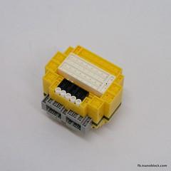 Minion Jerry (inanoblock) Tags: toy lego bricks jerry diamond instructions blocks block build tico minions minion nanoblock  despicableme nanoblocks
