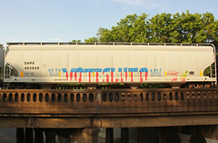 VOTE SLUTO (The Braindead) Tags: art minnesota train bench photography graffiti painted tracks minneapolis rail explore beyond the