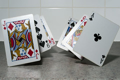 Card Trick (Nikon Nutter 2009) Tags: playing jack cards king nine ace queen trick