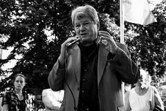 . (Thorsten Strasas) Tags: music berlin de deutschland death memorial remember rally banner protest courthouse mp 1983 transparent musik kundgebung speeches reden charlottenburg gedenken selbstmord mdb asylpolitik schwarzweis commitsuicide abschiebung asylumpolicy wolfgangwieland cemalkemalaltun