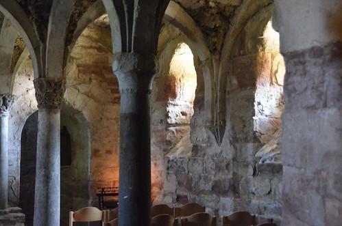 Memleben (Saxe-Anhalt), crypte de l'abbatiale - 03