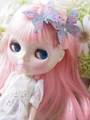 White flower and Blythe