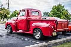 WestervilleComm_0102 (Muncybr) Tags: ford 1948 pickup f1 oh westerville carshow rickdickinson brianmuncy photographedbybrianmuncy westervillecommunityunitedchurchofchrist
