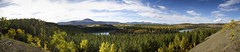Takhini Valley Panorama (yukonchris) Tags: autumn canada mountains fall nature beauty leaves forest landscape north hike hills trail yukon hillside northern genre taiga borealforest northof60 southernyukon takhiniriver takhinirivervalley canon7d