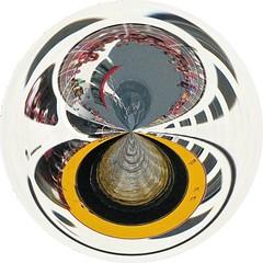 casco.bay.ferry  swirl (origamidon) Tags: usa me water wake waves maine shoreline orb amazingcircles sphere swirl orbs spheres transformed eastend munjoyhill digitalmanipulation peaksisland cumberlandcounty dumpr pullingin cascobayferry origamidon donshall peaksislandmaineusa swirledworld 04108