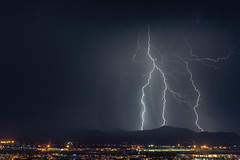 Tucson Mountain Lightning