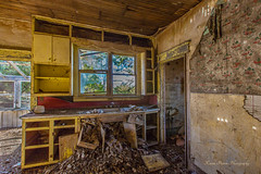Kitchen Nightmare (KPortin) Tags: house kitchen decay collapse deteriorating moulder spokanecounty disintegrate abandonedhomestead