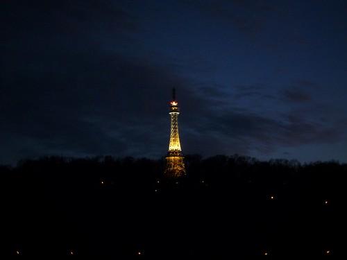 """""""Tour Eiffel"""" de Prague, République Tchèque"""