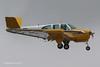 N5930C - 1952 build Beech C35 Bonanza, arriving on Runway 09 at Lakeland during Sun 'n Fun 2013 (egcc) Tags: dixon beechcraft 35 lakeland beech snf lal bonanza klal sunnfun continentalmotors linder c35 2013 e225 d3291 n5930c