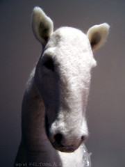 WIP licorne (FELTOOHLALA) Tags: horse white art wool nature animal felted cheval progress felt needlefelting artdoll fiberart fiber wonderland unicorn baba licorne laine poupe needlefelt l feutre needlefelted unicornis nemez feltoohlala laurencebergeotverb