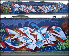 Yoki - Pure131 - Blyw - Aquor | Huelva, 2013 (BLYW de ABDT) Tags: huelva graffity 2013 bliw abdt pure131 blyw