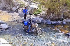 One of many stream crossings in Ladakh (pradeep javedar) Tags: travel tourism stream crossing ride indian royal roadtrip adventure bullet leh himalayas ladakh enfield canon600d