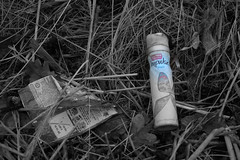 a is for aerosol on washed ashore (sazbo2012) Tags: witha week25bwwednesdaybegins