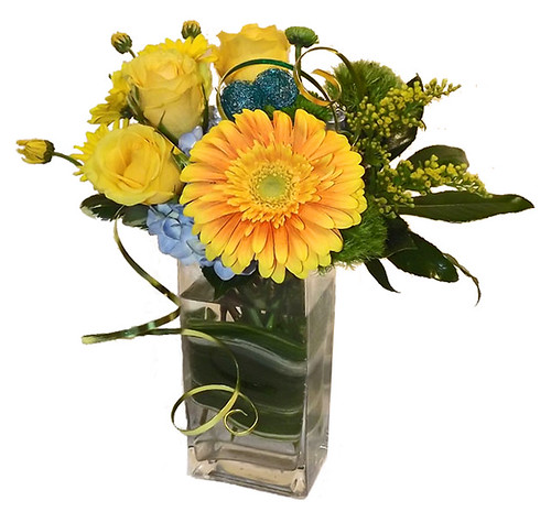 Cheerful Flowers - Blumz by JRDesigns in metro Detroit