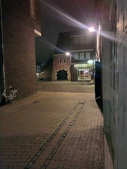 streetlife (loonatic) Tags: cameraphone street city night europe nightlights nacht nederland thenetherlands streetphotography lonely groningen avond stad straat htc smartphonepictures