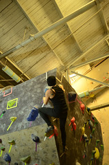 MAX_3869 (WK photography) Tags: chalk guelph climbing bouldering grotto rockclimbing chalkbag rockshoes bouldernight guelphgrotto
