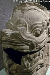 Exposition Angkor : Naissance d'un mythe / Gargouille (Lina Pyara) Tags: sculpture paris art louis cambodge khmer du musée exposition asie beng angkor naissance gargouille keo sud dun asiatique bouddhisme guimet gouttière archéologie makara mealea prasat mythe delaporte
