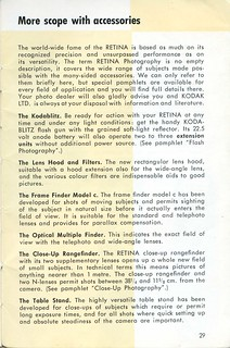 Kodak Retina IIIc - How to use it -  Page 29