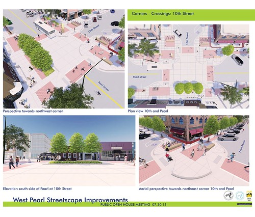 Photo - West Pearl Streetscape Improvements Graphics