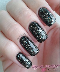 Noite Hits + Carlisle Cullen EDK (Galvess) Tags: glitter nails unhas esmalte