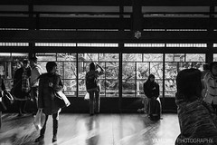 Moment of Life / Kyoto, Japan (yameme) Tags: travel monochrome japan canon eos maple kyoto   kansai     eikando  24105mmlis  5d3 5dmarkiii