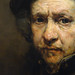 Rembrandt, Self-Portrait (detail of face), 1659