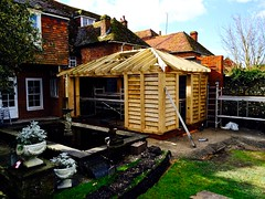 Old Swan House (HerryLawford) Tags: roof building timber frame wren oldswanhouse