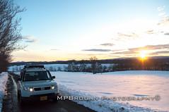 DSC_0039.jpg (MPBrogandotcom) Tags: sunset snow honda farm element