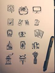 Doodles (blacktickles) Tags: drawings doodles doodling uploaded:by=flickrmobile flickriosapp:filter=nofilter