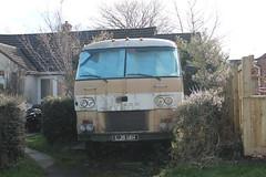 uk classic home us big beige american massive huge dodge motor 1970 unusual caravan motorhome bungalow travco 318ci ljs14h