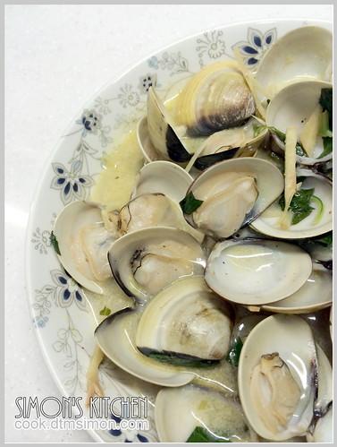 奶油檸檬蛤蜊01