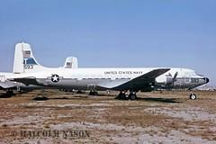 DOUGLAS C118B 131593 US NAVY (shanairpic) Tags: military usnavy dc6 propliner c118 douglasc118 131593