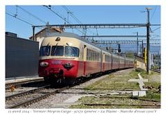 Rame RAe TEE II - Vernier-Meyrin-Cargo (CC72080) Tags: train sbb tee cff automotrice raeteeii verniermeyrincargo