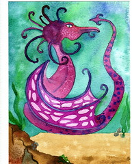 "Undersea Dragon card <a style=""margin-left:10px; font-size:0.8em;"" href=""https://www.flickr.com/photos/66157425@N08/14091405556/"" target=""_blank"">@flickr</a>"