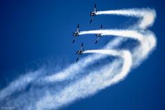IMG_6984 (xnir) Tags: happy israel telaviv team day force aviation air tel aviv independence t6 aerobatic nir 66th texanii benyosef xnir  idfaf