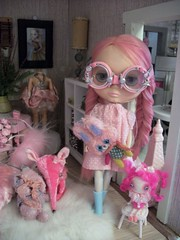 Chanel and her toys....