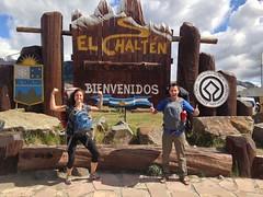 On est arrivés à El Chalten!