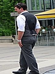 (ManontheStreet2day) Tags: male guy ass businessman shoes butt hunk twink business bubble vest stud bubblebutt